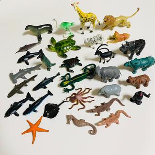 レトロ 動物 海の生き物 フィギュア おもちゃ まとめ売り