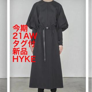 HYKE - HYKE 新品タグ付 Carefree BALOON SLEEVE DRESS
