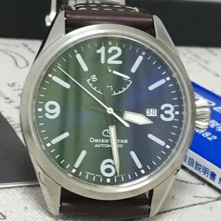 オリエント(ORIENT)の超美品! オリエントスター メンズ 機械式 自動巻 手巻き アウトドア(腕時計(アナログ))