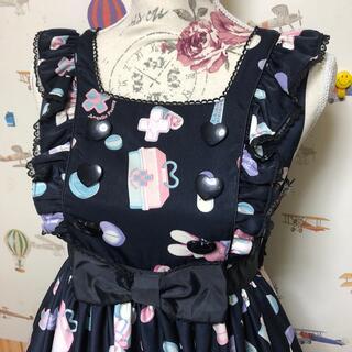 Angelic Pretty - Angelic pretty fancy hospital ジャンパースカート黒