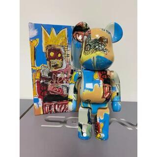 メディコムトイ(MEDICOM TOY)のBE@RBRICK jean-Michel Basquiat 400%(アニメ/ゲーム)