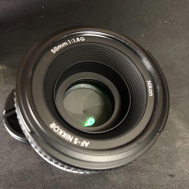 Nikon(ニコン)のNikon 単焦点レンズ AF-S NIKKOR 50mm f/1.8G スマホ/家電/カメラのカメラ(レンズ(単焦点))の商品写真