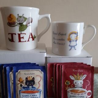 ●カレルチャペック マグカップ&紅茶●