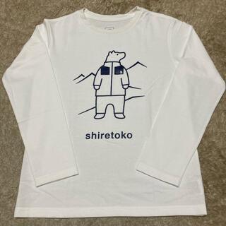 ザノースフェイス(THE NORTH FACE)のTHE NORTH FACE キッズ知床長袖Tシャツ(Tシャツ/カットソー)