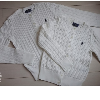 Ralph Lauren - ☆未使用 Ralph Laurenカーディガン 120~130/130~140☆