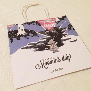 ムーミン ムーミンの日 2021 ショッパー 紙袋 ペーパーバッグ ラッピング