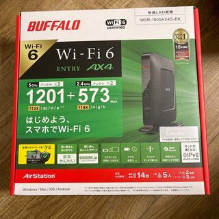 Buffalo - BUFFALO Wi-Fi6 無線LANルーター