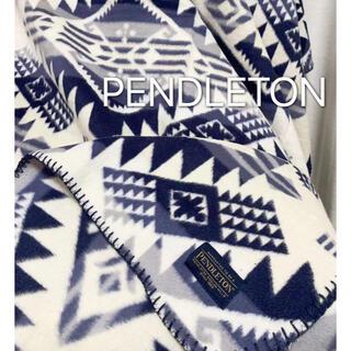 ペンドルトン(PENDLETON)のペンドルトン ブランケット ひざ掛け 毛布 ロンハーマン  キャンプ(寝袋/寝具)