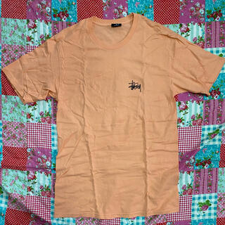 STUSSY - stussy ステューシー Tシャツ Mサイズ オレンジ