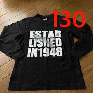 プーマ(PUMA)のプーマ PUMA 130 ロンT 長T キッズ 黒 (Tシャツ/カットソー)