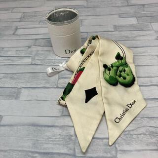 クリスチャンディオール(Christian Dior)のChristian Dior ディオール ツイリー スカーフ ストール(バンダナ/スカーフ)
