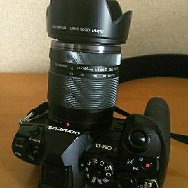 OLYMPUS(オリンパス)のオリンパス OM-D E-M1 mark2 元箱付 14-150mmレンズセット スマホ/家電/カメラのカメラ(ミラーレス一眼)の商品写真