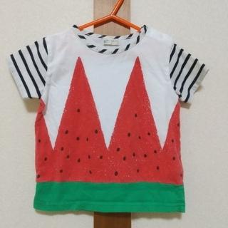 NARUMIYA INTERNATIONAL - baby cheer 100サイズ スイカTシャツ ベイビーチアー