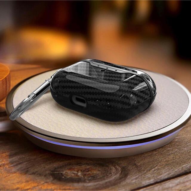 AirPods Pro エアポッズプロ ケース カーボン スマホ/家電/カメラのオーディオ機器(ヘッドフォン/イヤフォン)の商品写真