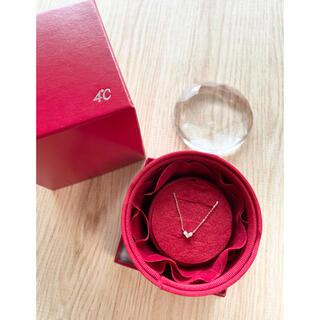 4℃ - 4ドシー ピンクゴールド ネックレス