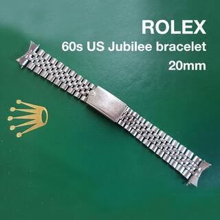 ROLEX - ☆【純正】ロレックス ROLEX USジュビリーデベソSSブレスレット 20mm