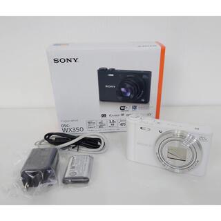 SONY - SONY Cyber−Shot WX DSC-WX350(W) デジカメ