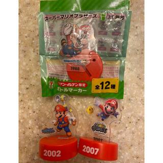 ニンテンドウ(任天堂)のスーパーマリオブラザーズ35周年 ボトルマーカー フィギュア(ゲームキャラクター)