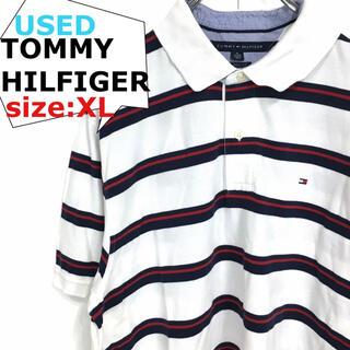 トミーヒルフィガー(TOMMY HILFIGER)のトミーヒルフィガー 半袖ポロシャツ K7(ポロシャツ)