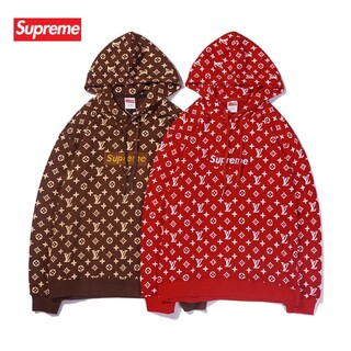 Supreme - 新品!男女兼用Supremeパーカー2枚13000#1