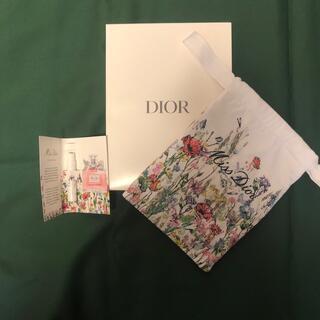 Dior - Diorミスディオールノベルティポーチ・オードゥパルファン