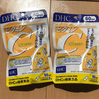 DHC - DHC ビタミンC(ハードカプセル) 60日分 120粒 2袋セット