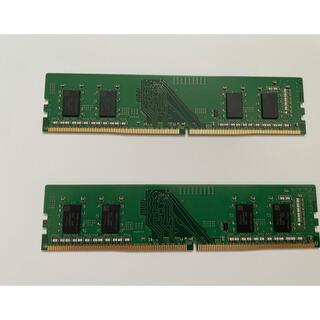 sk hynix DDR4-3200 8GB 2枚バルクメモリ 計16GB(PCパーツ)