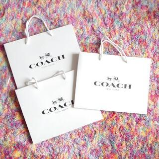 COACH - 【未使用】コーチ 紙袋 ショッパー 3枚セット
