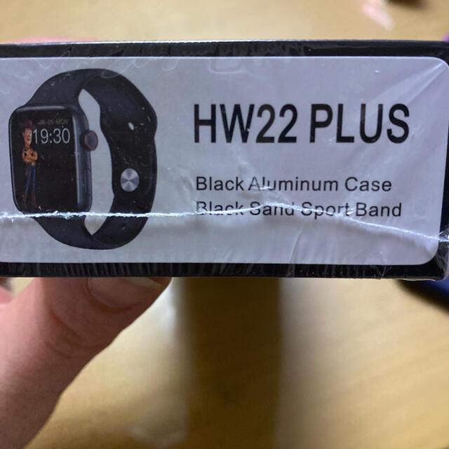 HW22 PLUS ブラック メンズの時計(腕時計(デジタル))の商品写真