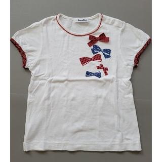 familiar - 極美品⭐familiar リボンTシャツ ファミリアチェック 120