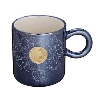 スターバックスコーヒー(Starbucks Coffee)の1点のみ 台湾 スターバックス うさぎ マグカップ 夜空 月(グラス/カップ)
