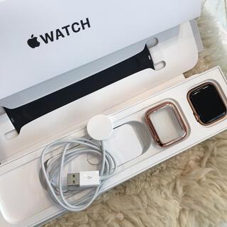 Apple Watch - ☆美品☆アップルウォッチSE 44mm GPS Gold Aluminium
