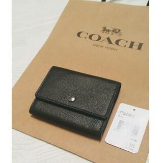 COACH - ★新品★COACH コインケース ミニウォレット★コーチ カーフレザー メンズ