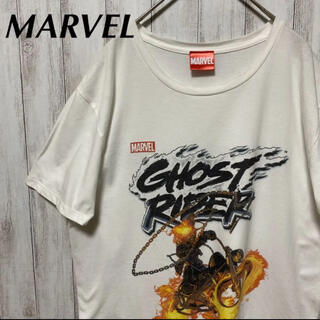 マーベル(MARVEL)のMarvel マーベル Ghost Rider tシャツ L(Tシャツ/カットソー(半袖/袖なし))