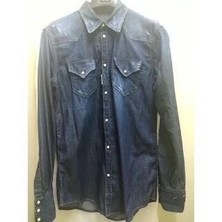 ディースクエアード(DSQUARED2)のディースクエアードデニムシャツ50(シャツ)