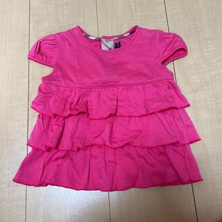バーバリー(BURBERRY)の(キラキラ様専用〉バーバリー Tシャツ 80cm(Tシャツ)