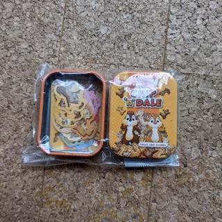 チップ&デール - 新品未使用 チップとデール ミニ缶入りシール