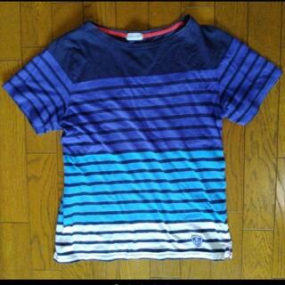 ナノユニバース(nano・universe)のnano universe メンズボーダーTシャツ(Tシャツ/カットソー(半袖/袖なし))