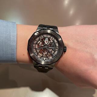 エドックス(EDOX)のEDOX(エドックス) DELFIN MECANO デルフィン メカノ(腕時計(アナログ))