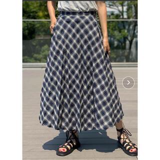 ビームス(BEAMS)の新品 プリーツスカート(ロングスカート)