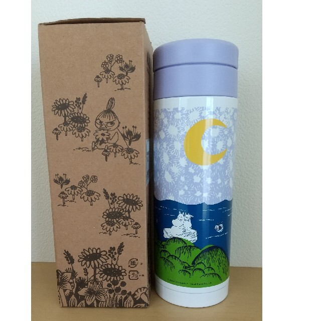 ムーミン ステンレスボトル インテリア/住まい/日用品のキッチン/食器(タンブラー)の商品写真