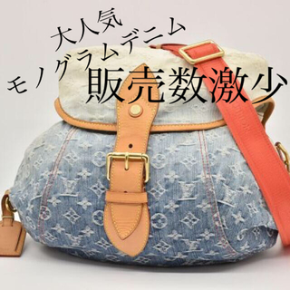 LOUIS VUITTON - 美品 最安値  ヴィトン モノグラム デニム サンシャイン バッグ
