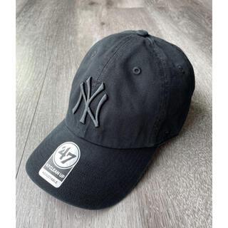 ニューヨークヤンキース キャップ 帽子 フォーティーセブン ブラック ワンサイズ