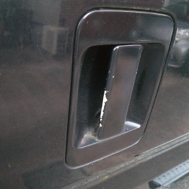 ホンダ(ホンダ)のホンダ バモス ブラック M 2WD ABA-HM1 AT 自動車/バイクの自動車(車体)の商品写真
