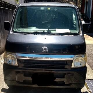 ホンダ - ホンダ バモス ブラック M 2WD ABA-HM1 AT
