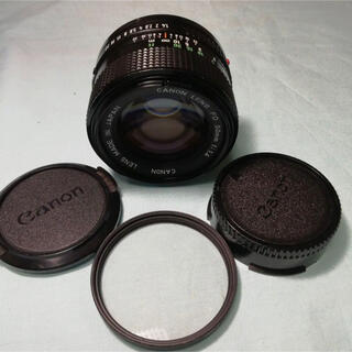 Canon - 【美品】CANON New FD 50mm f1.4 オールドレンズ