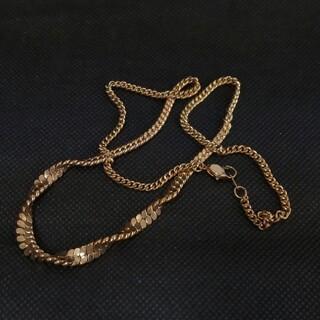 ーメッキゴールドネックレスー(ネックレス)