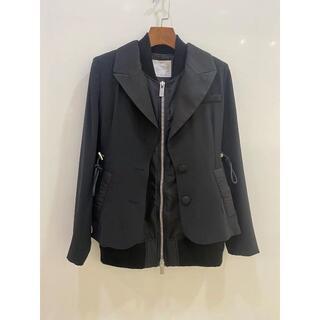 サカイ(sacai)のSacai サカイ Suiting Mix Jacket  2(テーラードジャケット)