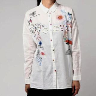 デシグアル(DESIGUAL)の着用1回のみ❣️デシグアル コットンロングシャツ (シャツ/ブラウス(長袖/七分))