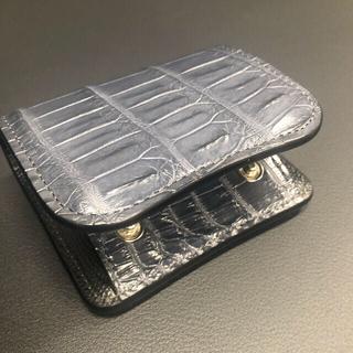 ワイルドスワンズ パーム クロコ 限定カラー(折り財布)